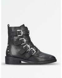 Carvela Kurt Geiger - Scant Leather Ankle Boots - Lyst