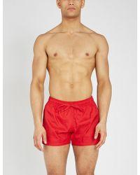 Moschino - Tonal Logo-print Swim Shorts - Lyst