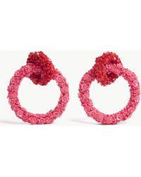 Sachin & Babi - Fleur Double Hoop Earrings - Lyst