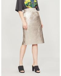 Stussy - Vera Shell Skirt - Lyst