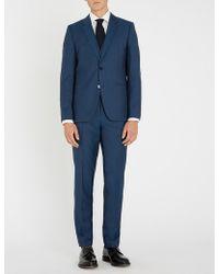 HUGO - Slim-fit Wool Three-piece Suit - Lyst