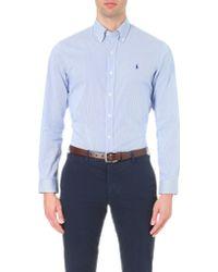 Polo Ralph Lauren - Slim-fit Single-cuff Checked Shirt - Lyst