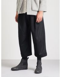 Toogood - The Tinker Regular-fit High-rise Wool Trousers - Lyst