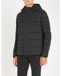 Belstaff - Quilted Shell-down Hooded Jacket - Lyst