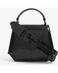 Byredo Blueprint Mini Patent-leather Cross-body Bag - Black