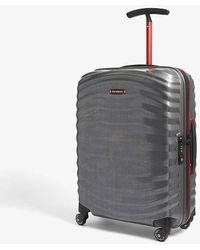 Samsonite Lite-shock Spinner Four-wheel Cabin Suitcase 55cm - Gray