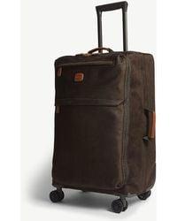 Bric's Life Four Wheel Suitcase 65cm - Green