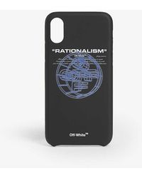 Off-White c/o Virgil Abloh Rationalism Phone Case Iphone Xs - Black