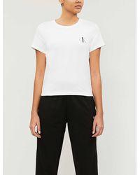 Calvin Klein Ck One Cotton Stretch-jersey Pyjama Top - White