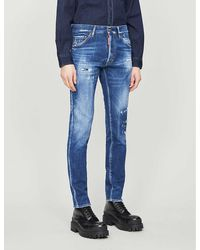 DSquared² Cool Guy Slim-fit Jeans - Blue