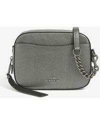COACH Metallic Camera Bag