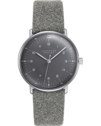 Junghans   027/3602.00 Max Bill Felt Watch   Lyst