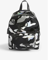 Valentino Camouflage Space Backpack - Metallic