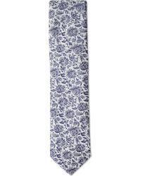 Duchamp | Classical Floral Silk Tie | Lyst