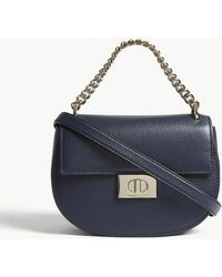 Kate Spade - Ladies Blazer Blue Striped Greenwood Lane Rita Leather Cross-body Bag - Lyst