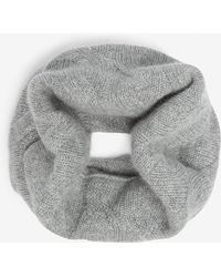 Johnstons - Cable-knit Cashmere Snood - Lyst