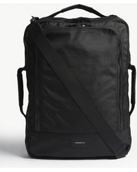 Sandqvist - Black Tyre Four Way Canvas Backpack - Lyst