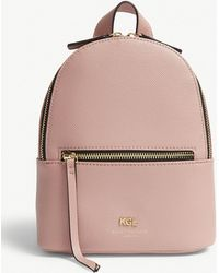 Kurt Geiger - Richmond Small Grained Leather Backpack - Lyst