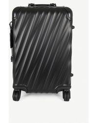 Tumi 19 Degree Aluminum International Carry-on (silver) Carry On Luggage - Black