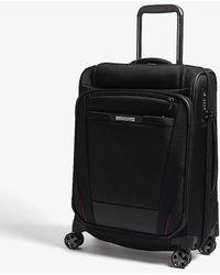 Samsonite Pro-dlx 5 Top Pocket Spinner Suitcase 56cm - Black