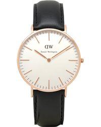Daniel Wellington - 0508dw Classic Sheffield Ladies Watch - Lyst
