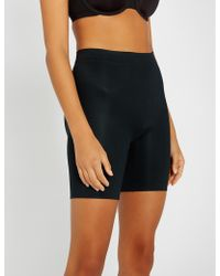 Spanx Suit Your Fancy Stretch-jersey Shorts - Black