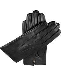 Dents - Silk-lined Leather Gloves - Lyst