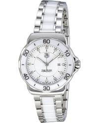 Tag Heuer - Formula 1 Steel & Ceramic Diamond Dial Watch 32mm - Lyst