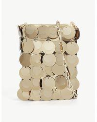 Paco Rabanne Sparkle 1969 Sequin-embellished Cross-body Bag - Metallic
