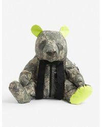 Raeburn Panda Camo-print Shell Backpack - Green