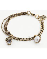 Alexander McQueen - Chain Pendant Bracelet - Lyst
