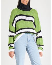 The Ragged Priest - Limer Striped Knitted Jumper - Lyst