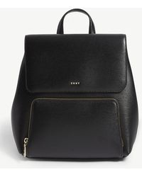 DKNY - Bryant Park Leather Backpack - Lyst
