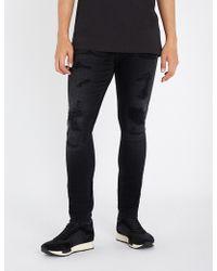 Tommy Hilfiger - Distressed Slim-fit Skinny Jeans - Lyst