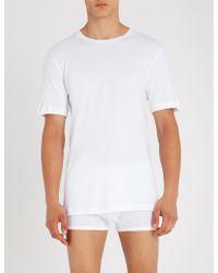 Hanro - Sea Island Cotton-jersey T-shirt - Lyst