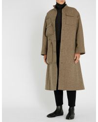 Toogood The Housekeeper Wool Coat - Natural