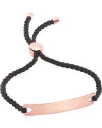 Monica Vinader | Havana 18ct Rose Gold-plated Friendship Bracelet | Lyst