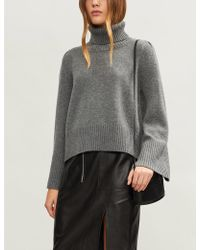 Co. - Suki Wool And Cashmere-blend Jumper - Lyst