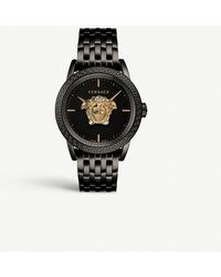 Versace 00518 Palazzo Empire Gold-plated Stainless Steel Watch - Multicolour