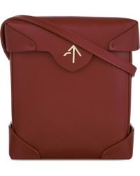 MANU Atelier - Mini Pristine Leather Shoulder Bag - Lyst