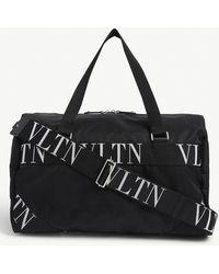 Valentino Vltn Nylon Holdall - Black
