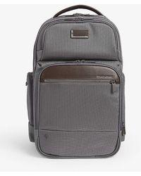 Briggs & Riley - @work Cargo Medium Nylon Backpack - Lyst
