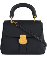 Burberry - Trench Leather Crossbody Tote - Lyst