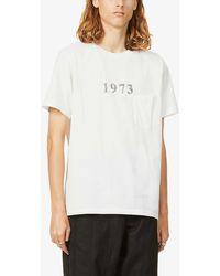 The Soloist 1973 Text-print Cotton-jersey T-shirt - White