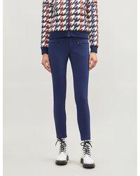 Perfect Moment - Aurora Skinny Stretch-shell Ski Trousers - Lyst
