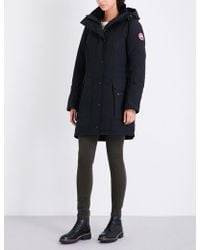 Canada Goose - Kinley Twill Padded Parka Coat - Lyst