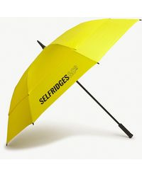 Fulton Selfridges Golf Umbrella - Yellow