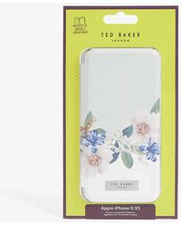 Ted Baker Jamboree Floral-printed Iphone X/xs Flip Case - Multicolour
