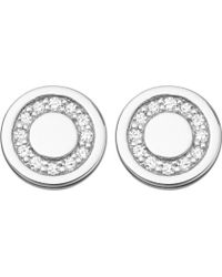 Astley Clarke - Mini Cosmos Sterling Silver And Diamond Stud Earrings - Lyst