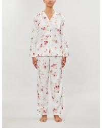 Ralph Lauren Cotton-sateen Pyjama Set - White